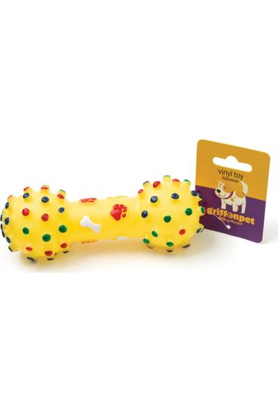Griffonpet Sesli Köpek Dambıl Oyuncak 15,5 cm