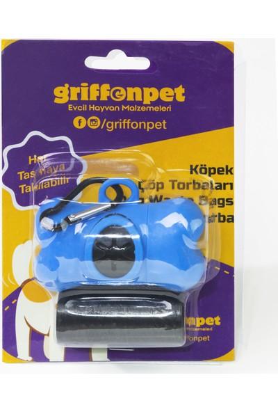 Griffonpet Köpek Dışkı Poşeti Kemik Kabı ile 2x20