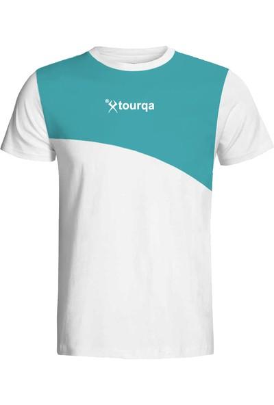 Torka Turkuaz Beyaz T-Shirt
