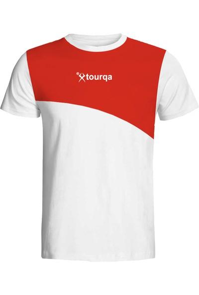 Torka Kırmızı Beyaz T-Shirt