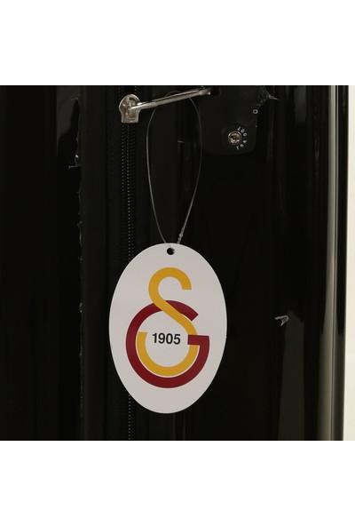Gs Store Galatasaray Orta ve Kabin Boy PP Siyah Ultra Hafif Valiz Seti