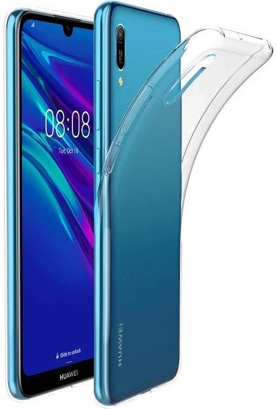 Quse Huawei Y6 2019 Premium Şeffaf Silikon Kılıf
