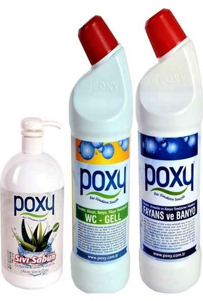 Poxy Banyo Temizlik Paketi - 3 lt