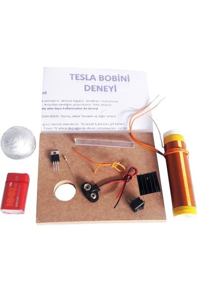 Ece Tesla Bobini Deney Seti Demonte Tıp31 Soğutuculu