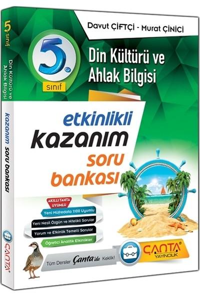 Çanta Yayınları 5. Sınıf Din Kültürü ve Ahlak Bilgisi Etkinlikli Kazanım Soru Bankası