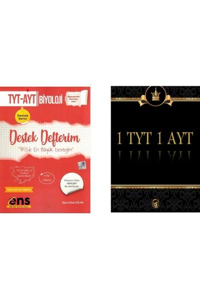 Ens TYT - AYT Biyoloji Destek Defterim + Deneme
