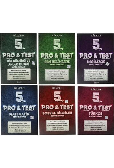 Bilfen 5. Sınıf Pro & Test Soru Bankası Seti 6 Kitap
