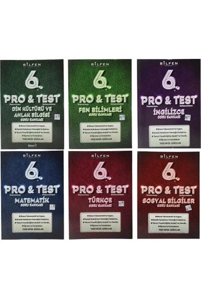 Bilfen 6. Sınıf Pro & Test Soru Bankası Seti 6 Kitap