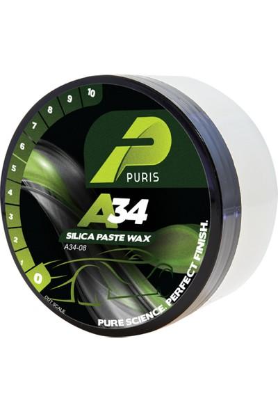 Puris A34 Hızlı Parlatıcı Katı Wax Showroom Cilası 227 gr