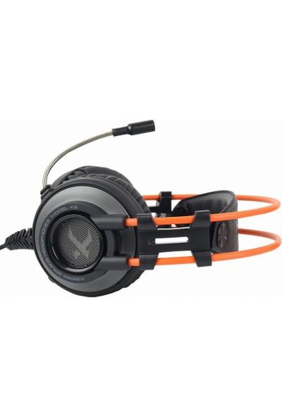 Xiberia K9 7.1 CH USB RGB Oyuncu Kulaklığı - Siyah Turuncu