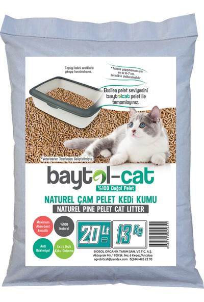 Baytol Cat Çam Peleti Kedi Kumu 13 kg = 20 l