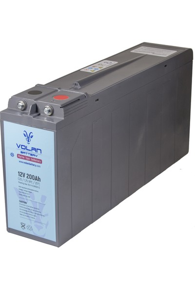 Volan Battery 12 Volt 200 Ah (Amper) Marin Jel Akü
