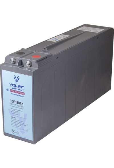 Volan Battery 12 Volt 180 Ah (Amper) Marin Jel Akü