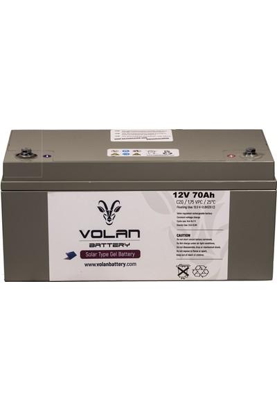 Volan Battery 12 Volt 70 Ah (Amper) Jel Akü