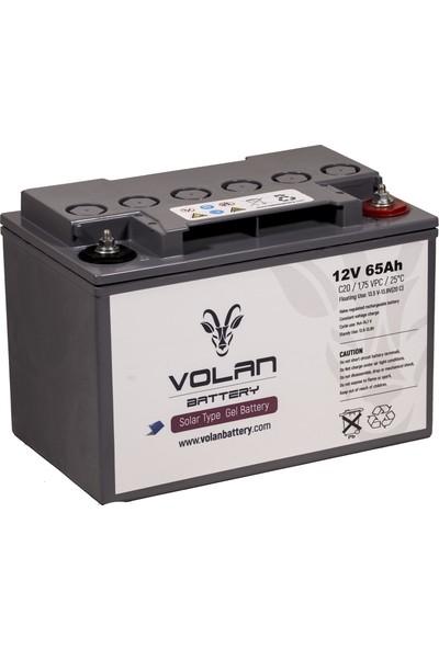Volan Battery 12 Volt 65 Ah (Amper) Jel Akü