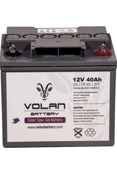 Volan Battery 12 Volt 40 Ah (Amper) Jel Akü