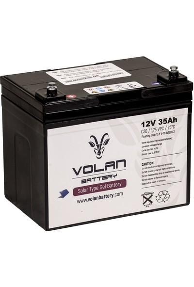 Volan Battery 12 Volt 35 Ah (Amper) Jel Akü