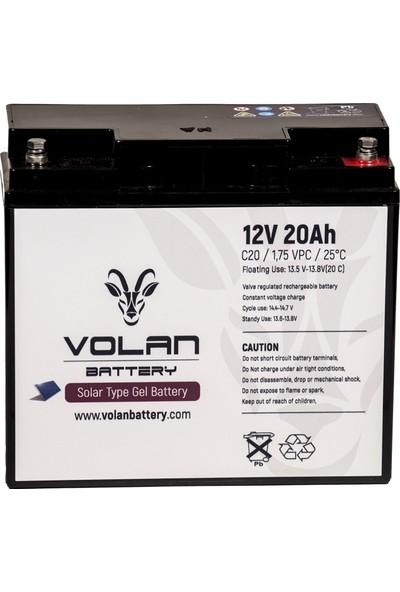 Volan Battery 12 Volt 20 Ah (Amper) Jel Akü