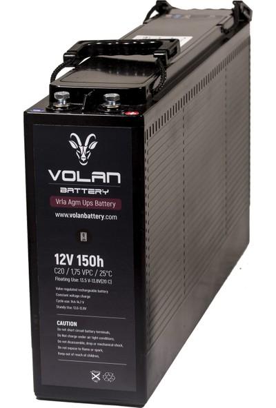 Volan Battery 12 Volt 150 Ah (Amper) Kuru Akü