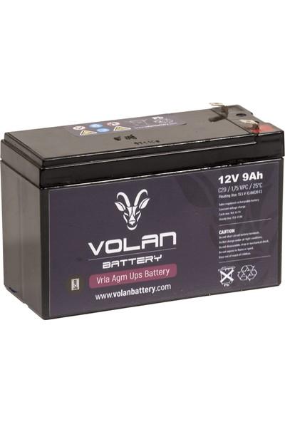 Volan Battery 12 Volt 9 Ah (Amper) Kuru Akü