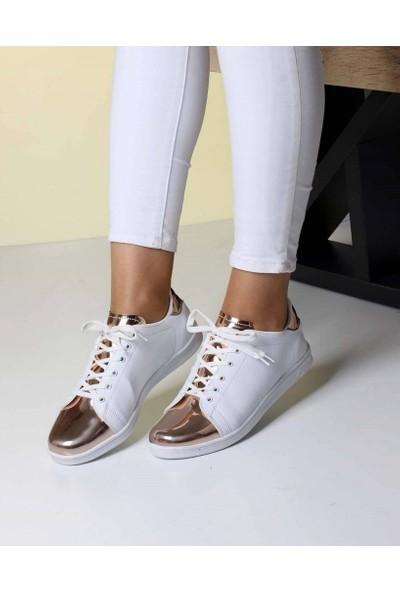 Mosimoso Bakır Ayna Dilli Kadın Spor Ayakkabı