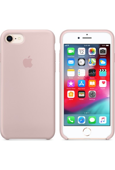 İnova Apple iPhone 6-6S İnce Silikon Kauçuk Kılıf Arka Kapak - Açık Pembe