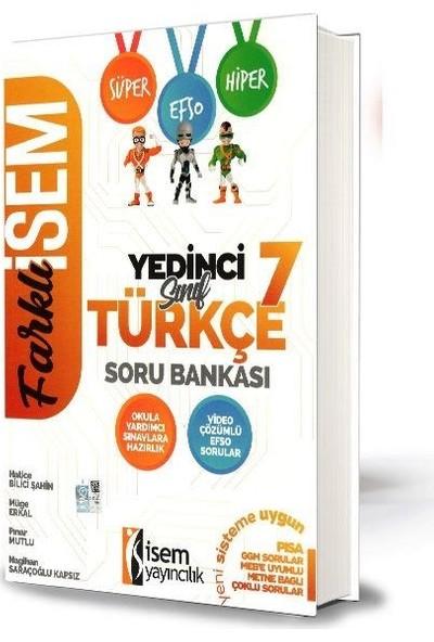 İsem 7.Sınıf Türkçe Soru Bankası-2020