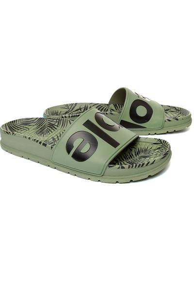 People Nc04S Lennon Slide Green Palm