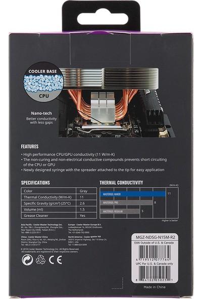 CoolerMaster MasterGel Maker Nano Partiküllü Termal Macun R2 (MGZ-NDSG-N15M-R2)