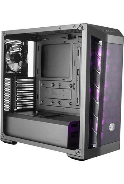 CoolerMaster MasterBox MB511 650W 80+ RGB 3x120mm Fanlı Tempered Glass Pencereli Mesh Ön Panel MidTower Kasa (MCB-B511D-KGN65-RGB)