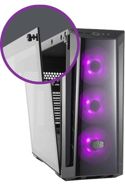 CoolerMaster MasterBox MB520 650W 80+ RGB 3x120mm Fanlı Tempered Glass Pencereli MidTower Kasa (MCB-B520-KGN65-RGB)