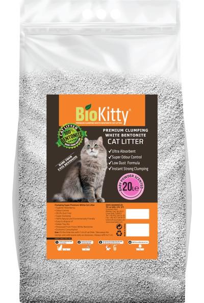 Biokitty Baby Powder 20 Lt İnce Taneli Kedi Kumu
