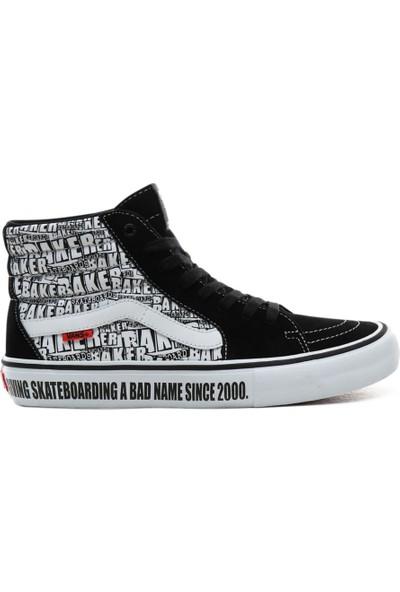 Vans X Baker SK8-Hi Pro Erkek Ayakkabısı VN0A45JDV0B