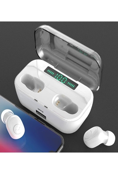 Judas Wireless Bluetooth 5.0 Kulaklık - Beyaz