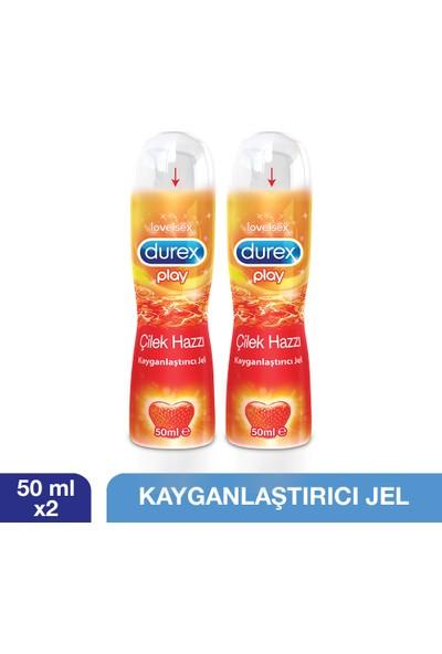Durex Play Kayganlaştırıcı Jel Çilek Hazzı 50 ml x 2 Adet