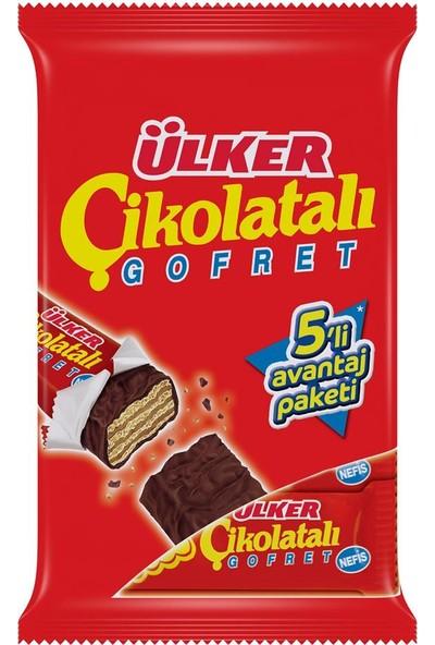 Ülker Çikolatalı Gofret 36 gr 5 x 24 Adet