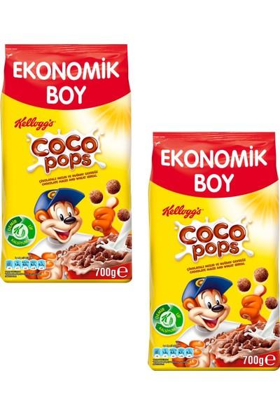 Kellogg's Cocopops Mısır Gevreği 700 gr 2 Adet