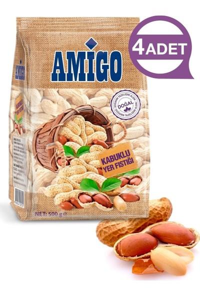Amigo Kabuklu Yer Fıstığı 4 Adet 500 gr