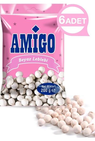 Amigo Beyaz Leblebi 6 Adet 200 gr