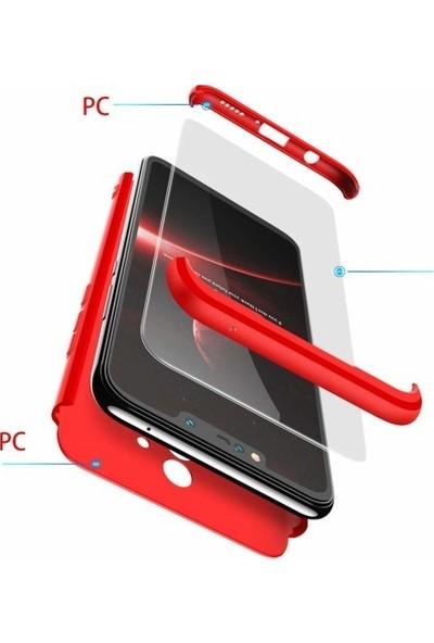 Magazabu Samsung Galaxy S10 Plus Kılıf 3 Parça 360 Ays Kapak + Nano Cam Ekran Koruyucu Rose