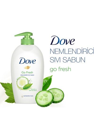 Dove Go Fresh Salatalık ve Yeşil Çay Kokulu Sıvı Sabun 500 ml