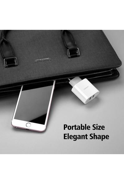 Ugreen Çift USB Çıkışlı Akıllı Şarj Cihazı