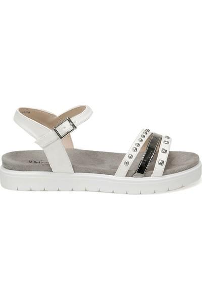 Butigo Cs19119 Beyaz Kadın Sandalet