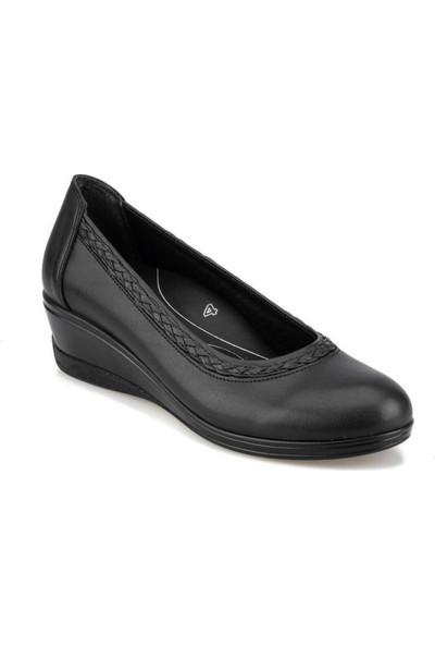 Polaris 5 Nokta 92.101020.Z Siyah Kadın Sandalet