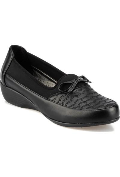 Polaris 92.151022.Z Siyah Kadın Sandalet