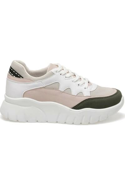 Butigo 19K-251 Bej Kadın Sneaker Ayakkabı