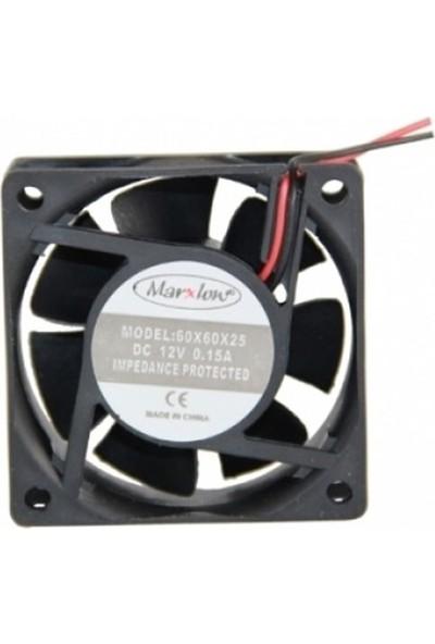 Marxlow 12V Fan - 60X60X25Mm