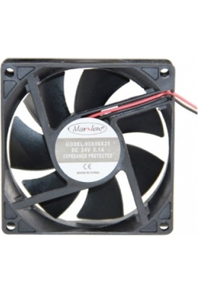 Marxlow 24V Fan - 80X80X25Mm