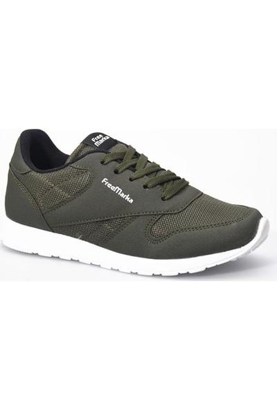 Free Marka 6200 Haki Günlük Kadın Spor Ayakkabı