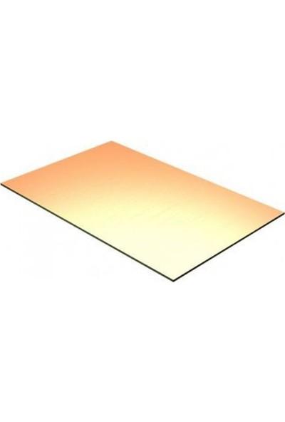 Diyotlab 10 X 20 Cm Bakır Plaket